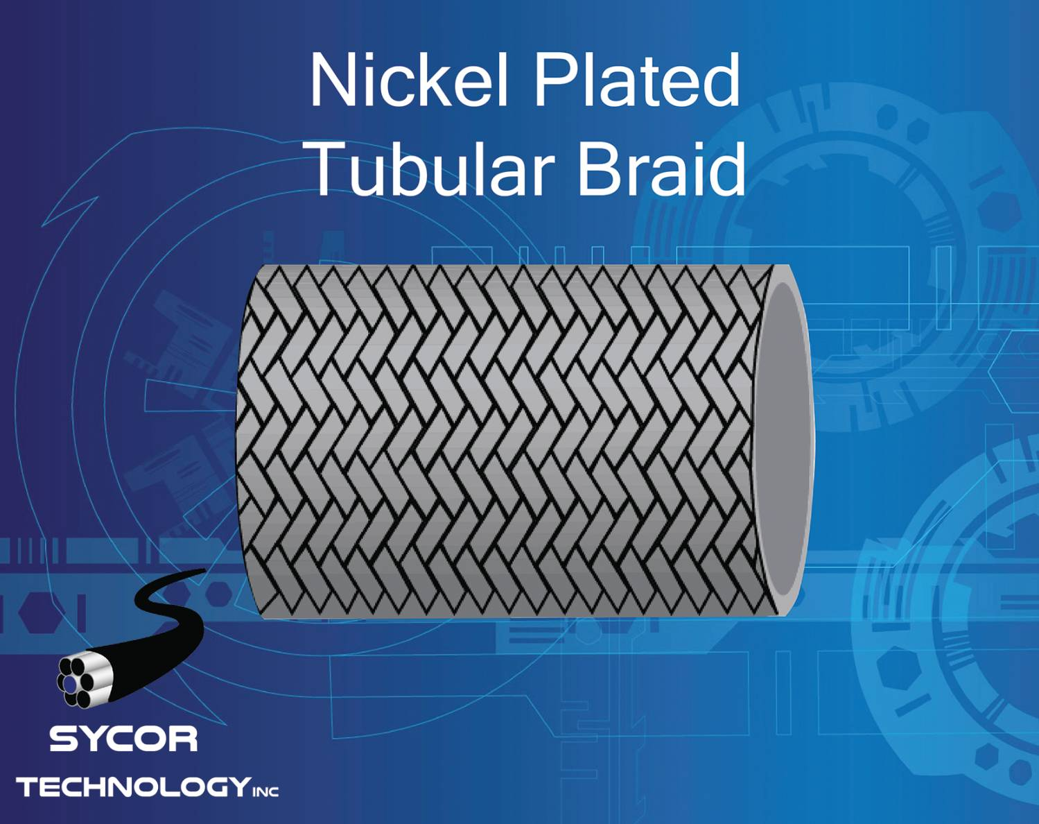 Nickel Plated Tubular Braid