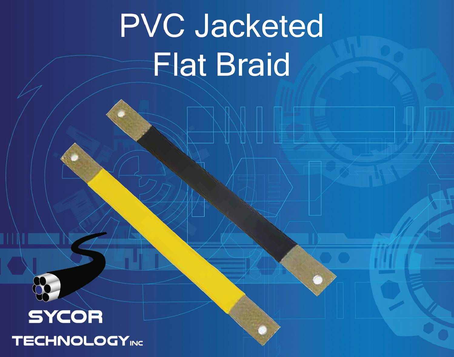 PVC Jacketed Flat Braid