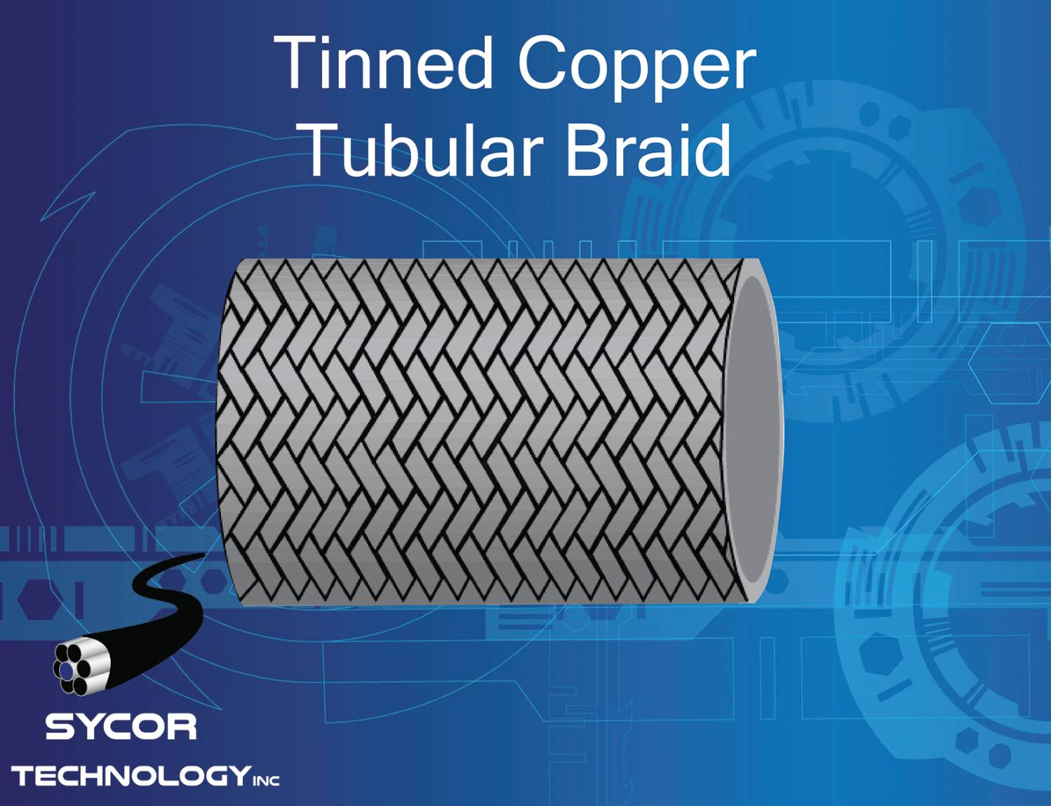 Tinned Copper Tubular Braid