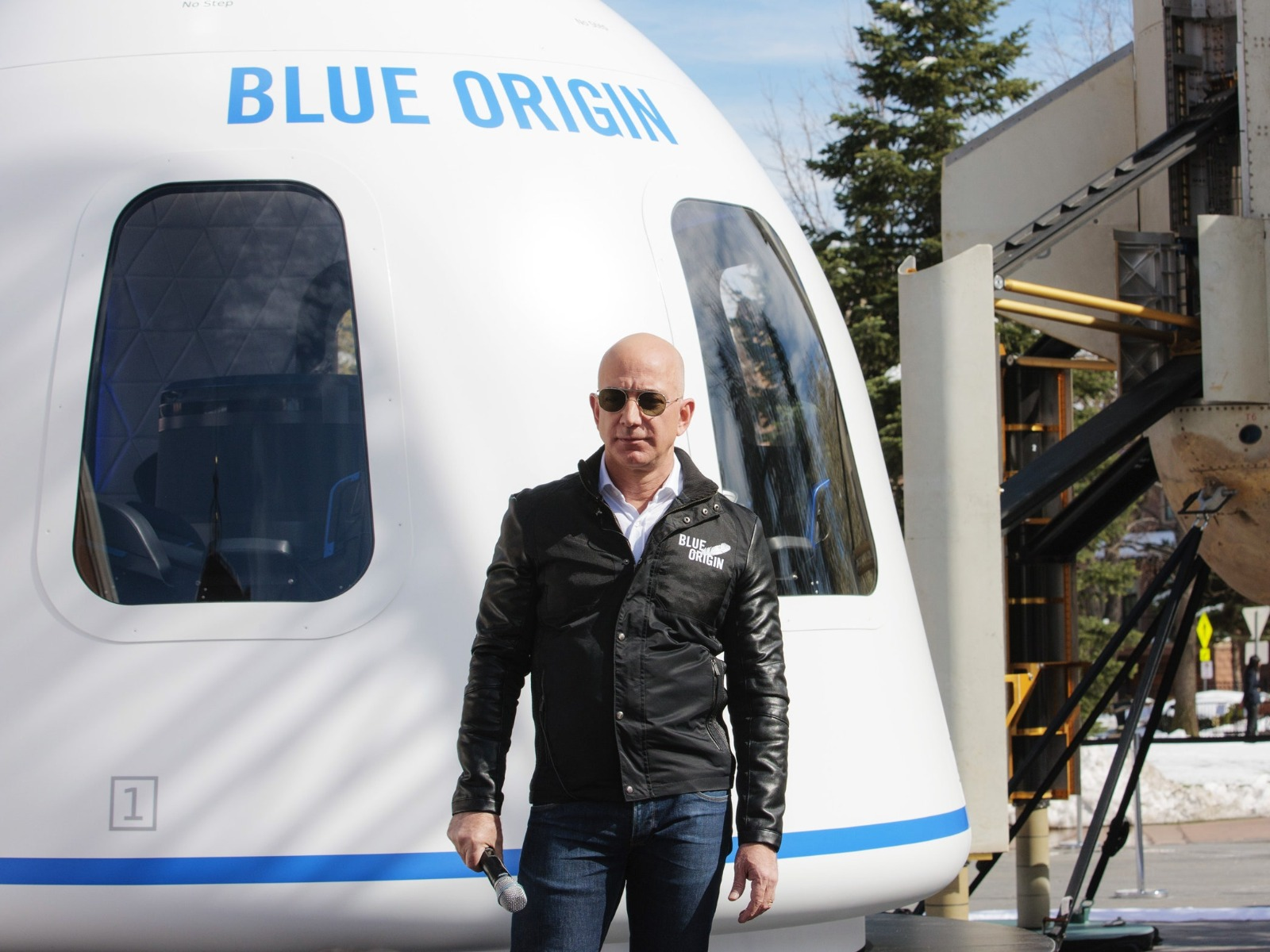 Blue Origin - Jeff Bezos