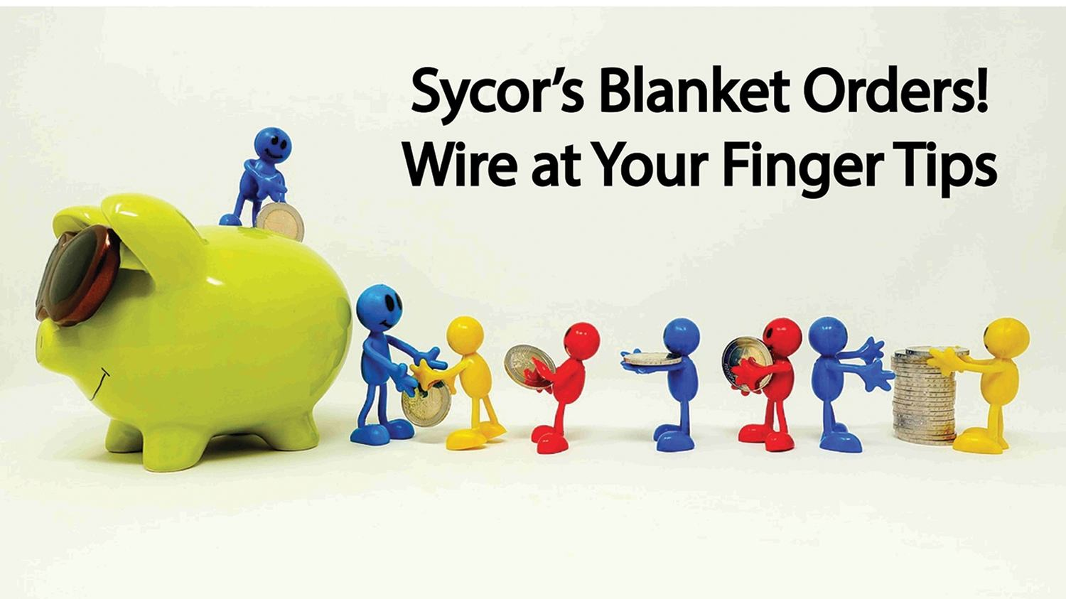 Sycor's Annual Purchase Blanket Orders