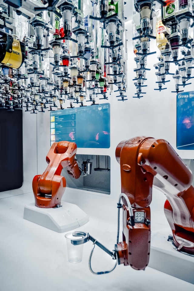 Cobot in the workplace