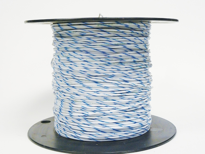 Spiral wire striping