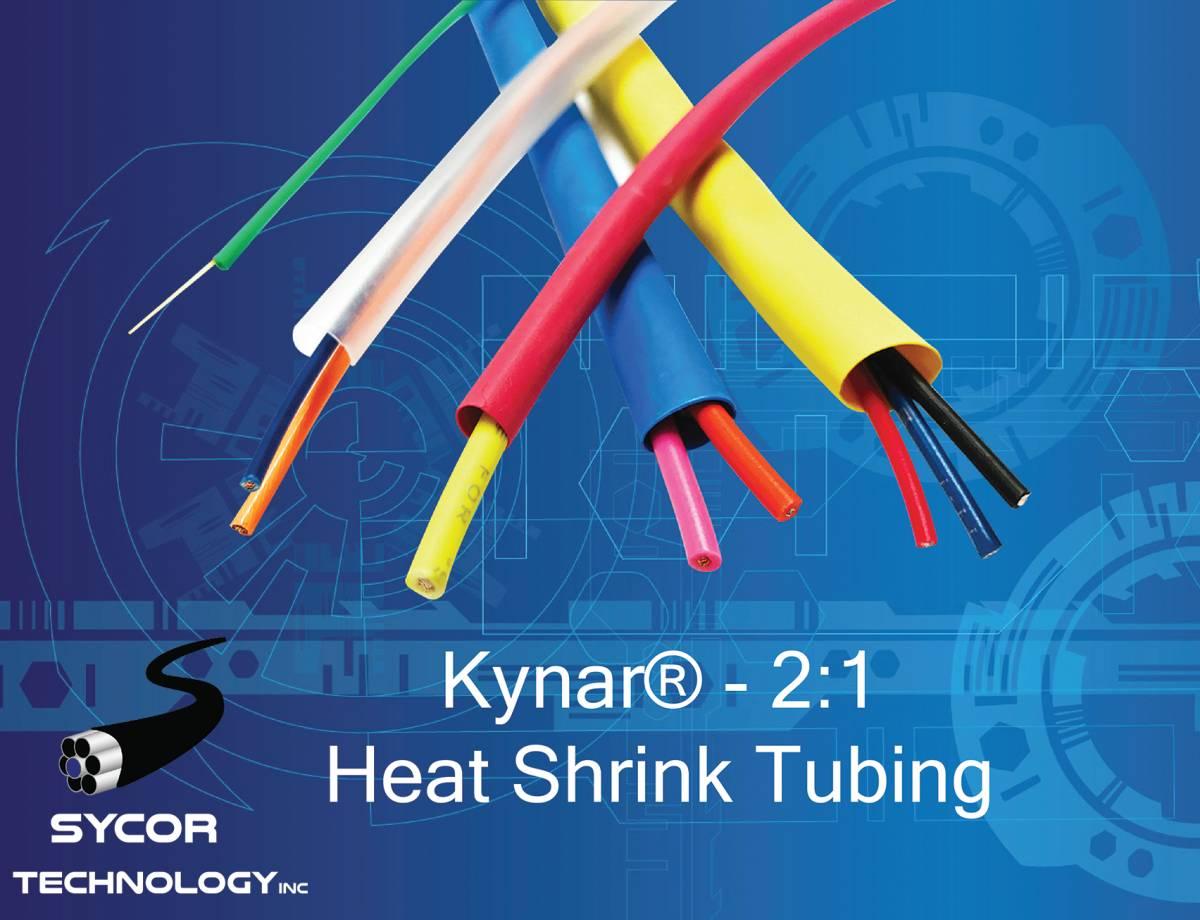 Kynar Electrical Heat Shrink Tubing – 2:1