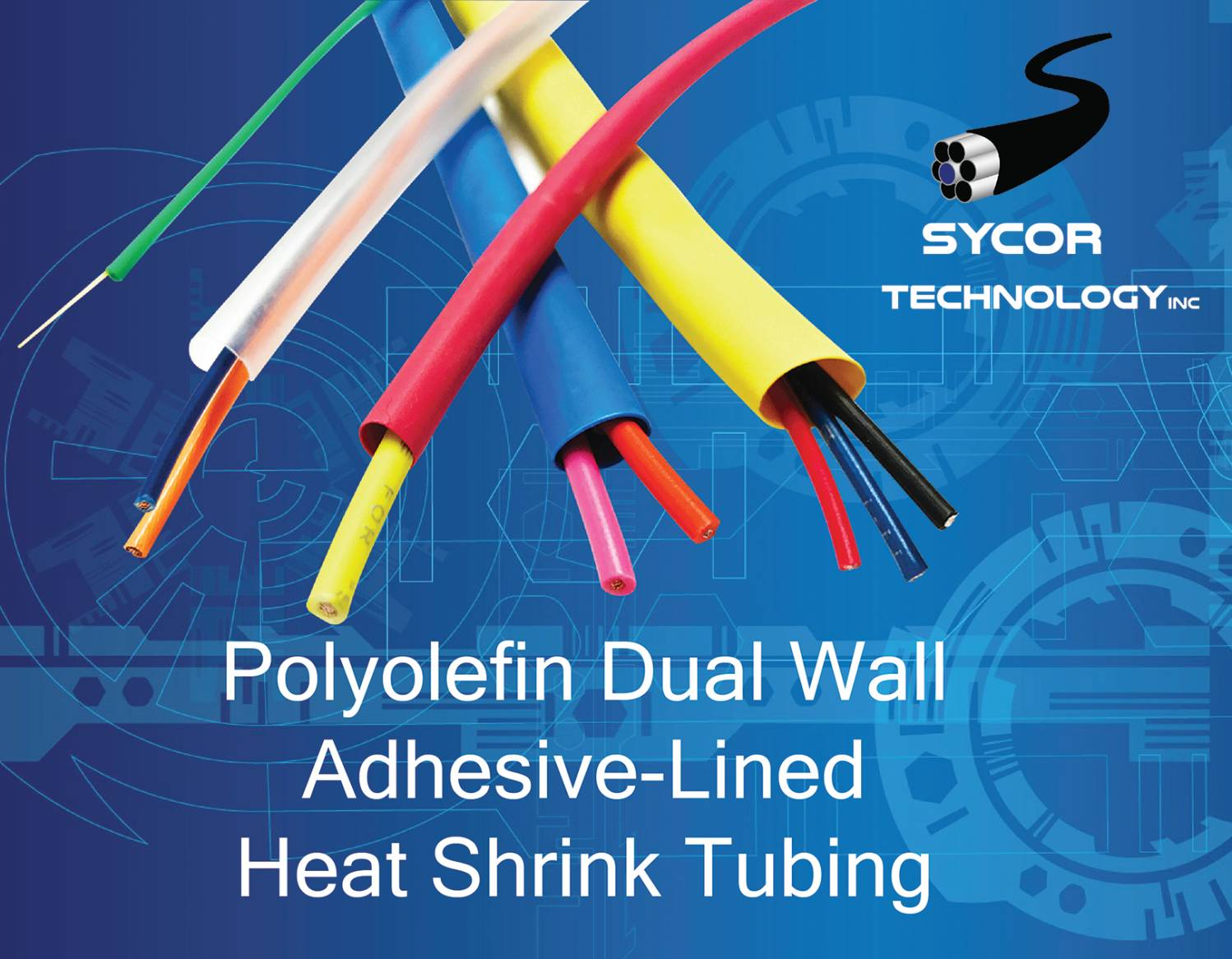 PO Dual Wall adhesive-lined Heat Shrink Tubing