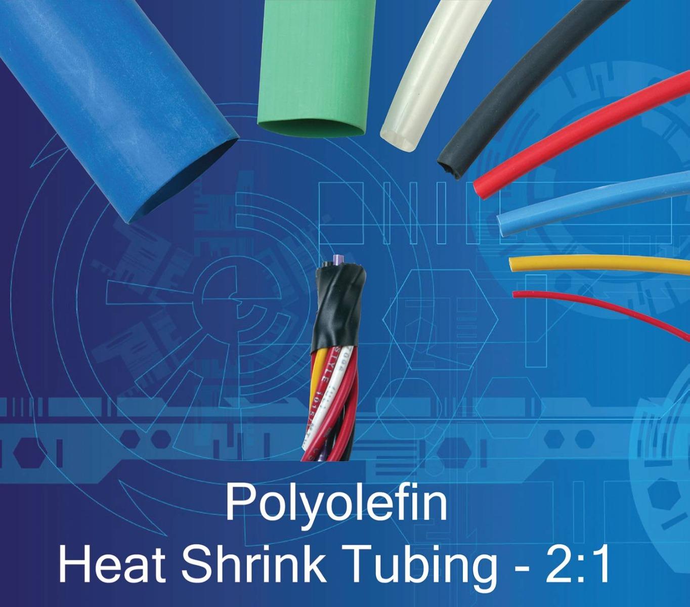 Polyolefin Electrical Heat-Shrink Tubing