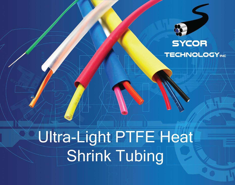 Ultra light PTFE Heat Shrink Tubing