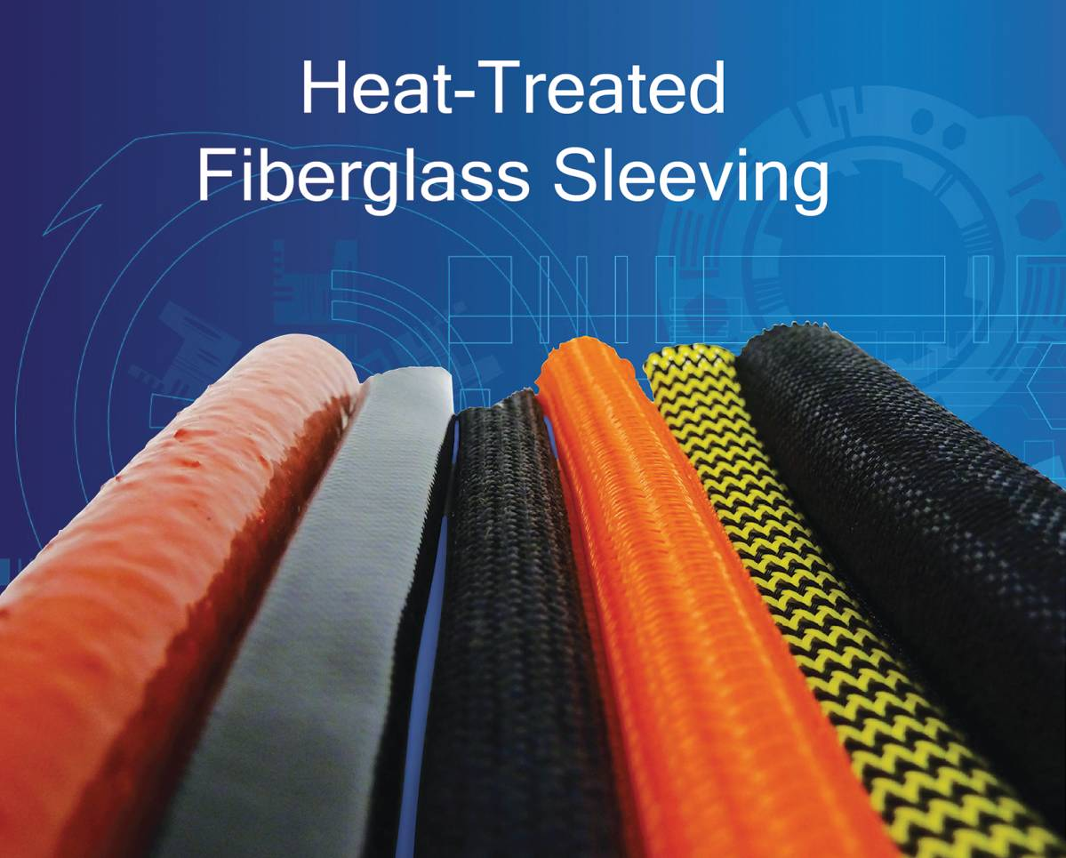 Cable Management: Heat Treated Fiberglass Sleeving