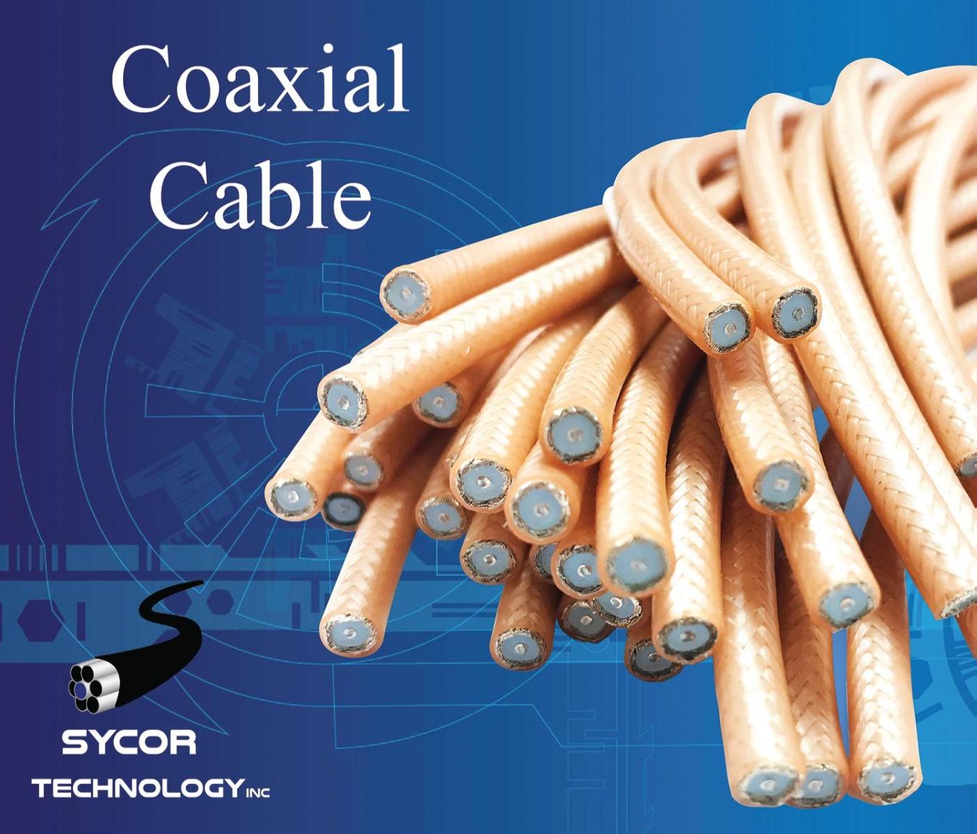 Coaxial Cable Partial Cut