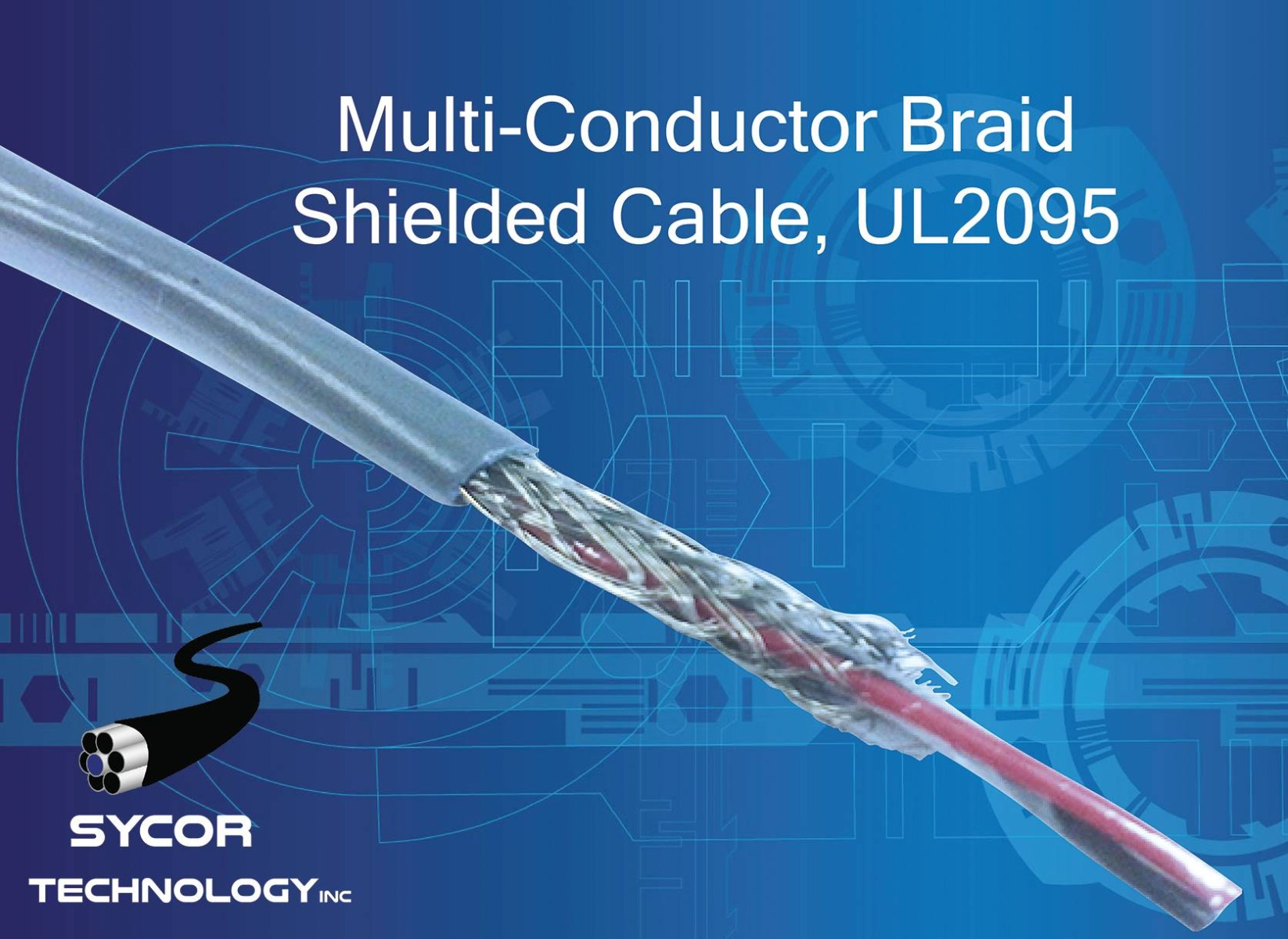 Multi-Conductor Braid Shielded Cable, UL2095