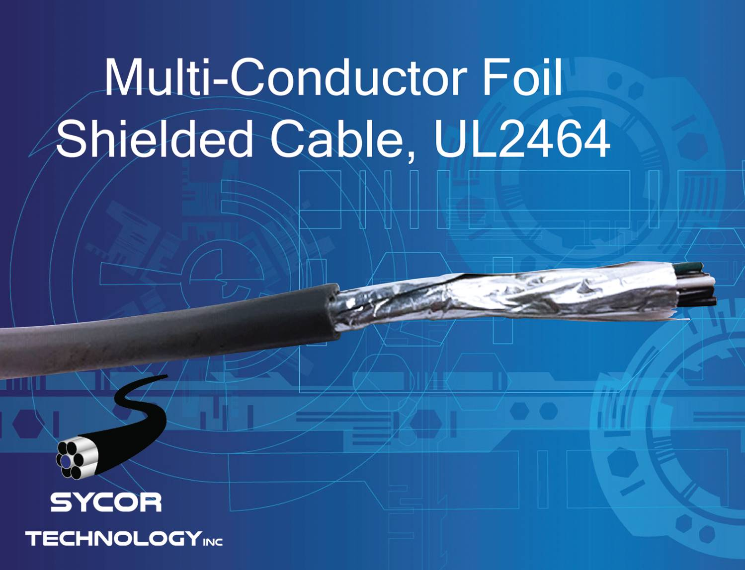 Multi Conductor Cable Foil Shielded, UL2464