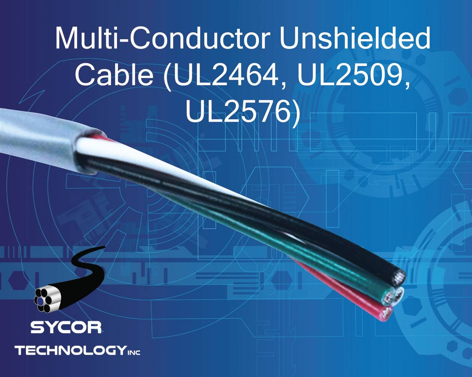 Multi-Conductor Unshielded Cable (UL2464, UL2509, UL2576)