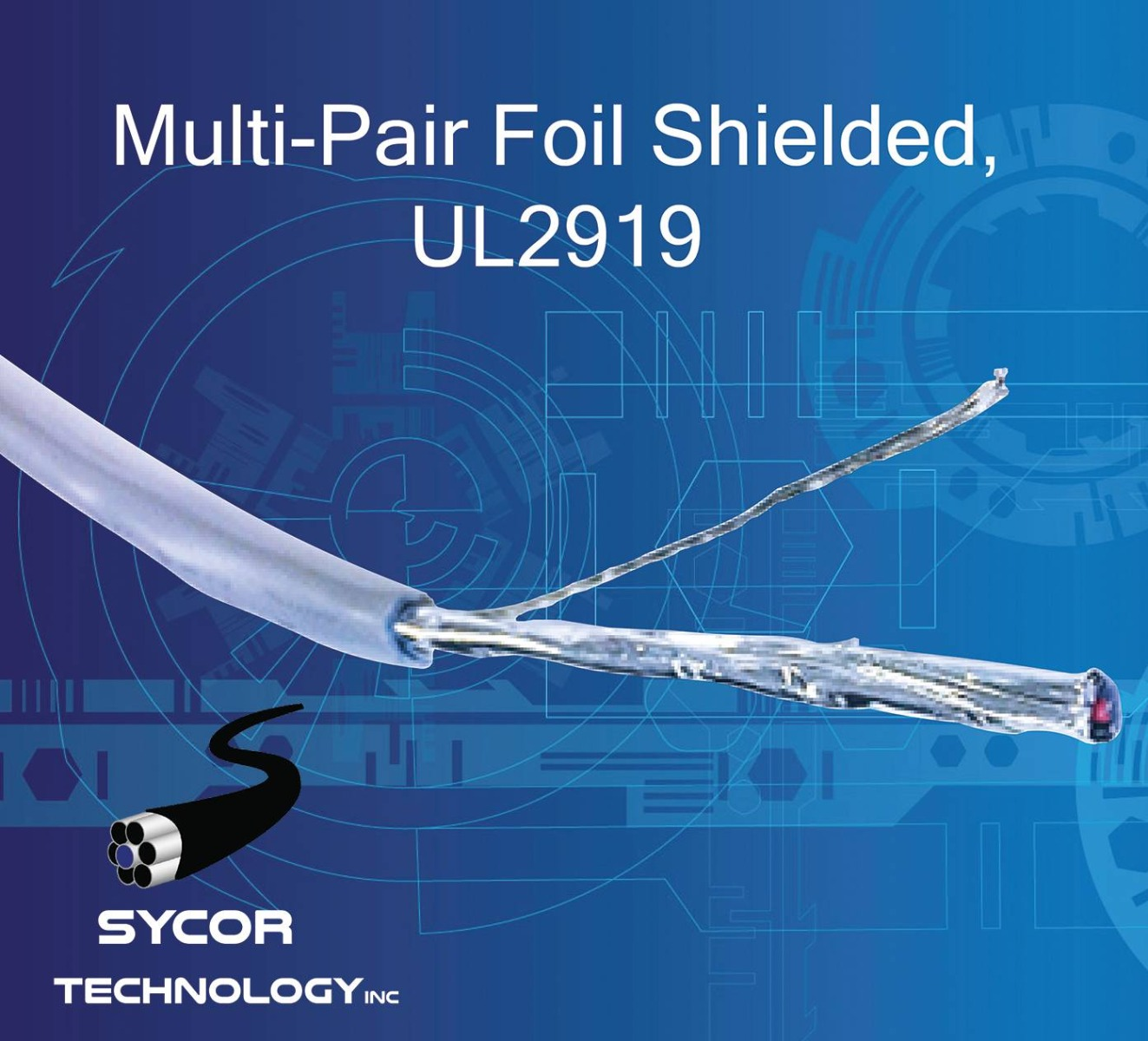 Stranded Multi-Pair Foil Shielded UL2919 cable