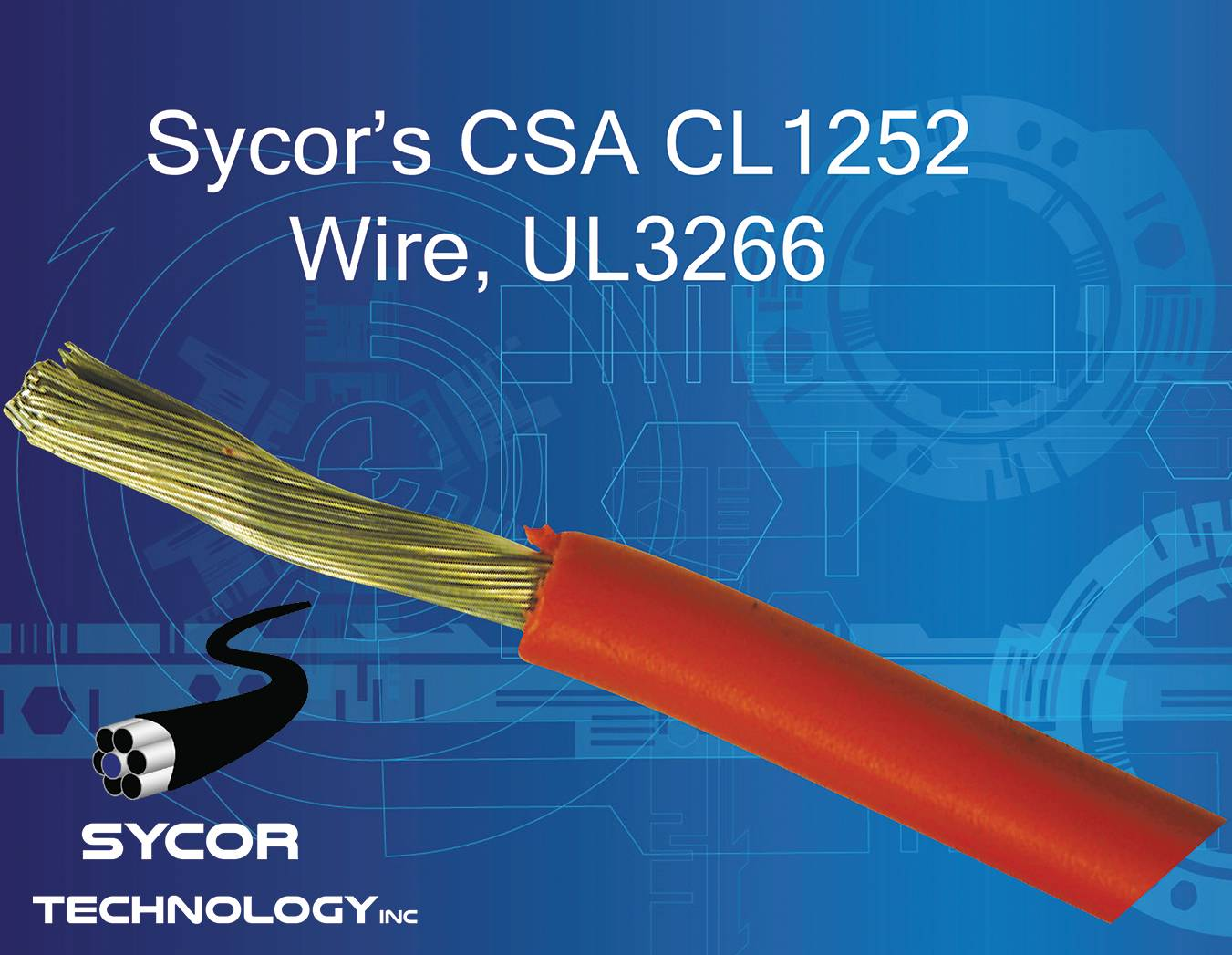 CL1252 Wire, UL3266 XLPE hook-up wire