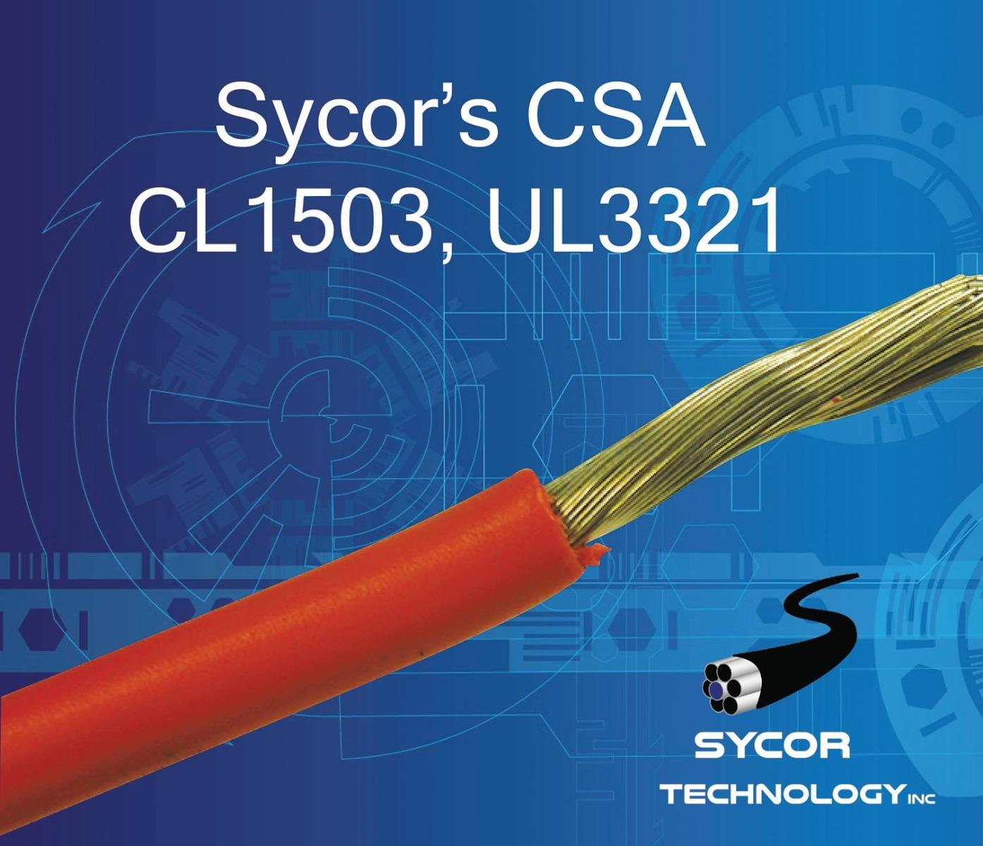 CSA CL1503, UL3321