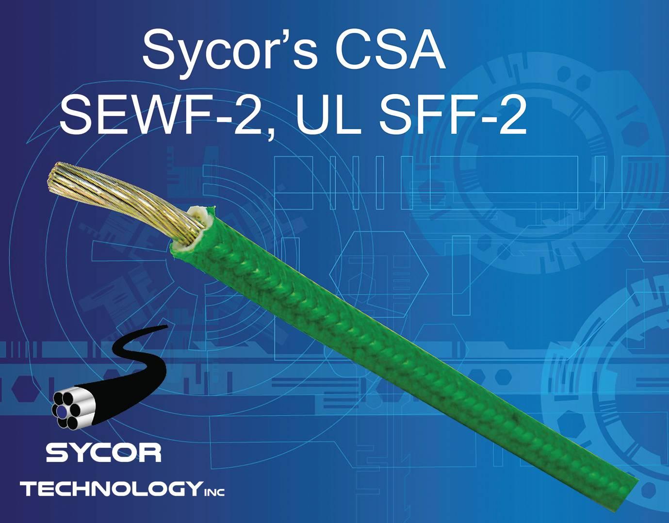 CSA SEWF-2, UL SFF-2 fiberglass stranded wire