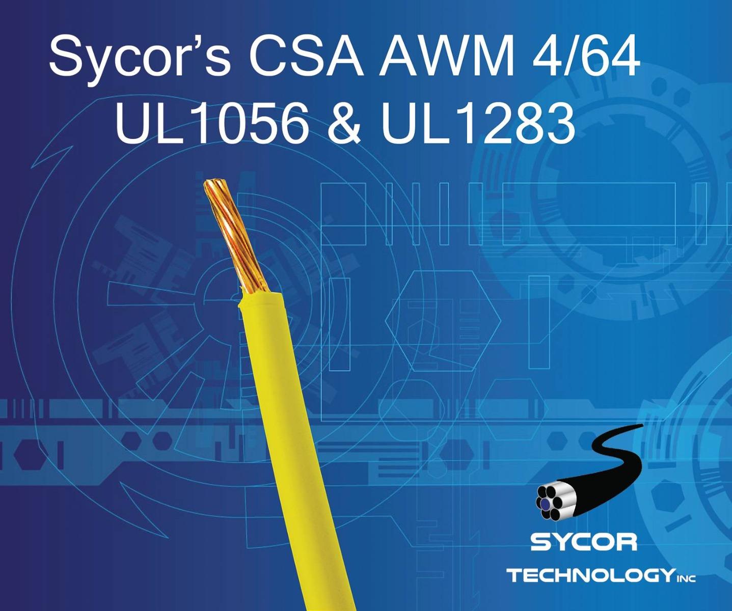 CSA AWM 4/64 UL1056, UL1283, Hook-Up Wire