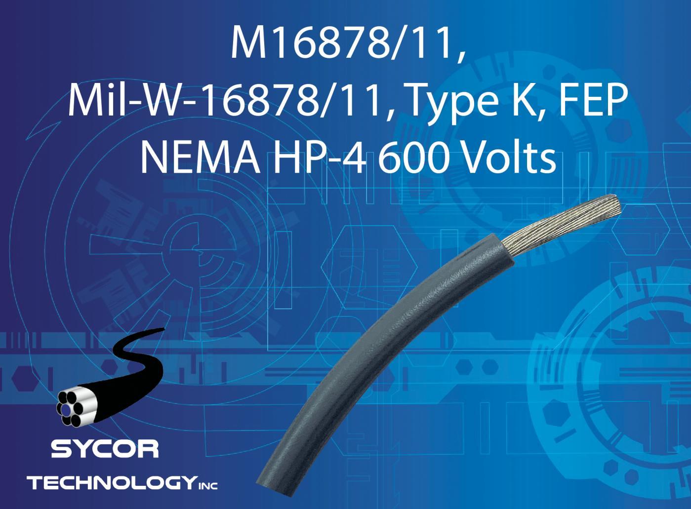M16878/11, Mil-W-16878/11, Type K Wire