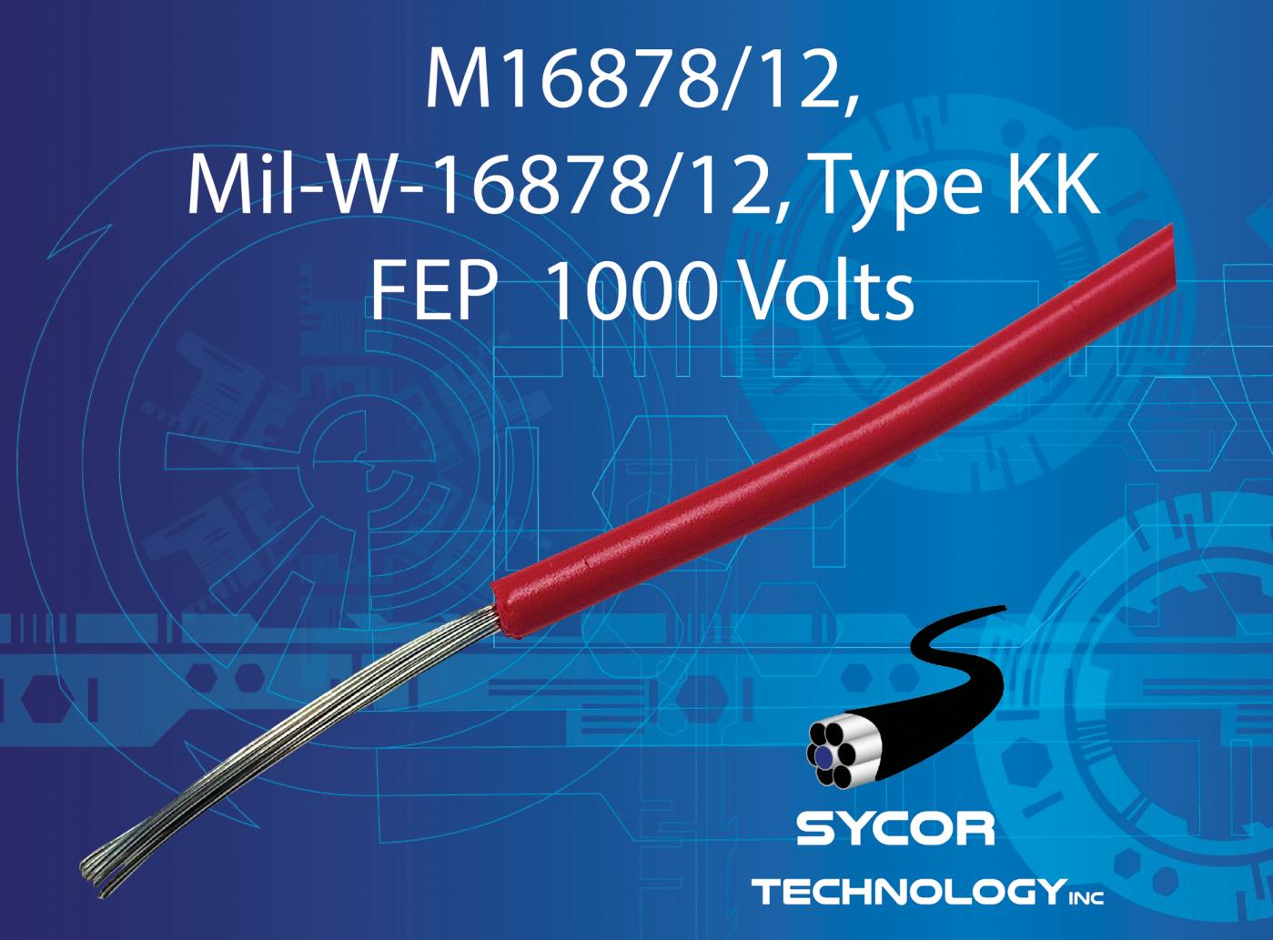 M16878/12, MIL-W-16878/12, Type KK Wire