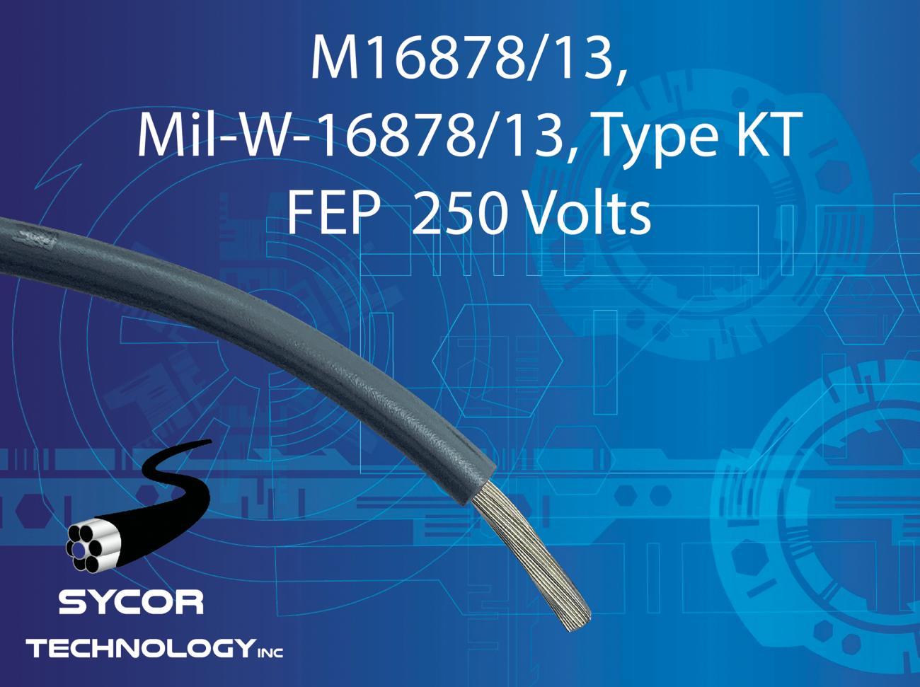 M16878/13, MIL-W-16878/13, Type KT wire