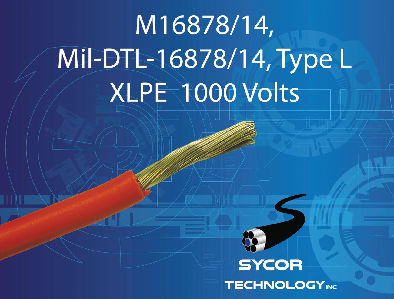 M16878/14, Mil-DTL-16878/14 Type L wire