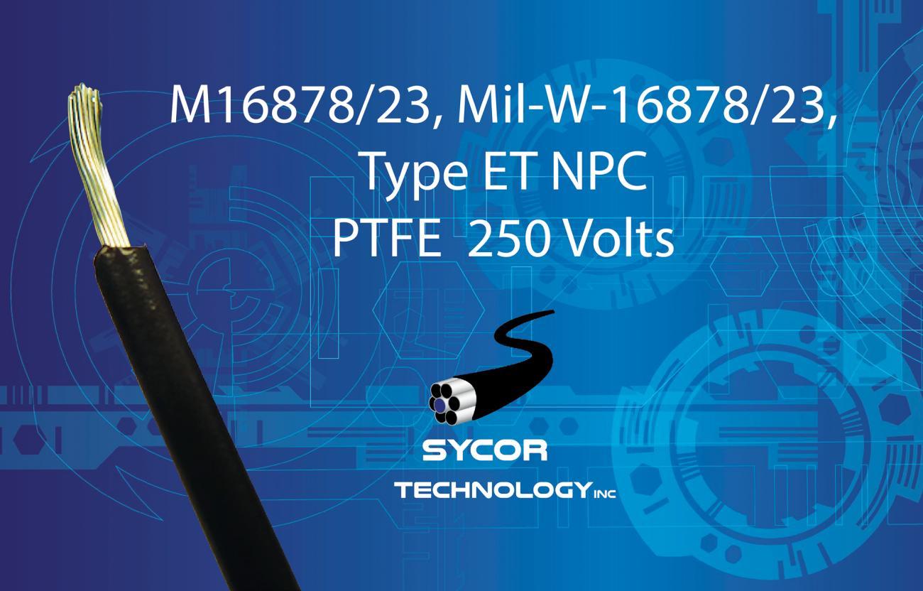 M16878/23, MIL-W-16878/23, Type ET NPC Wrapped Wire