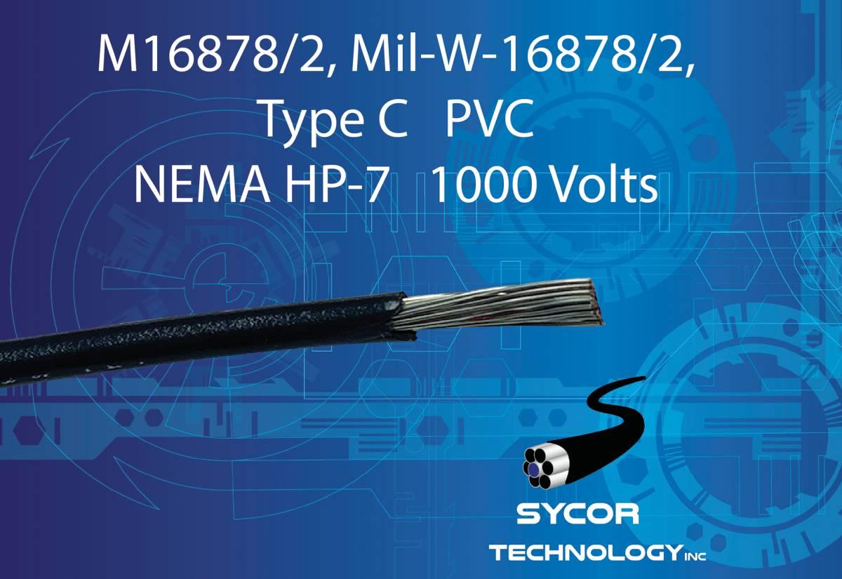 M16878/2, Mil-W-16878/2 Type C Wire