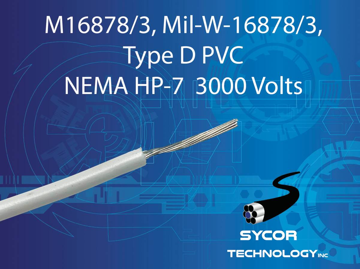 M16878/3, Mil-W-16878/3 - Type D Wire (HP7)