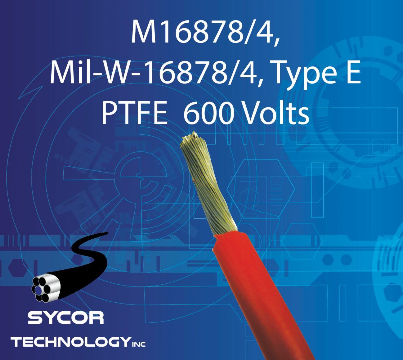 M16878/4, MIL-W-16878/4, Type E Mil-Spec Wire