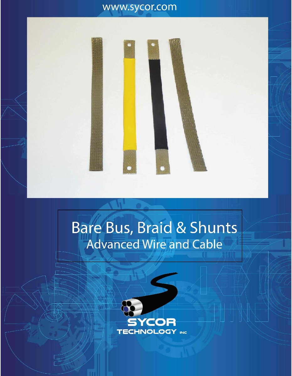 Bare Bus, Braids and shunt brochure