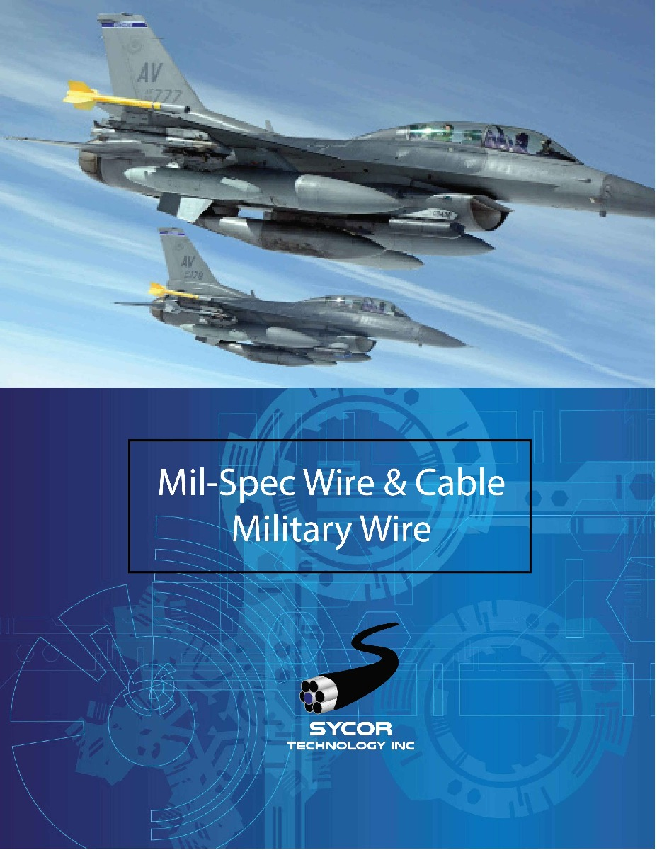 Mil-Spec Wire & Cable Brochure