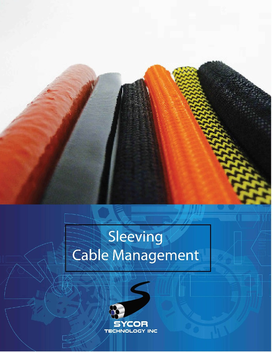 Sleeving Cable Management Brochure