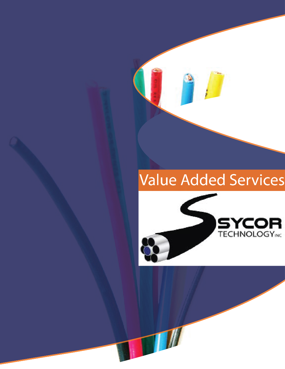 Value added service brochure