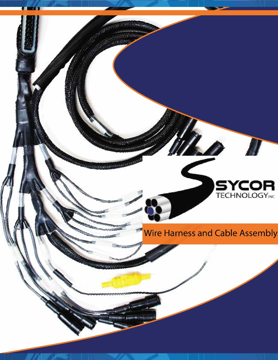 Sycor's Cable Assembly / Wire Harness brochure