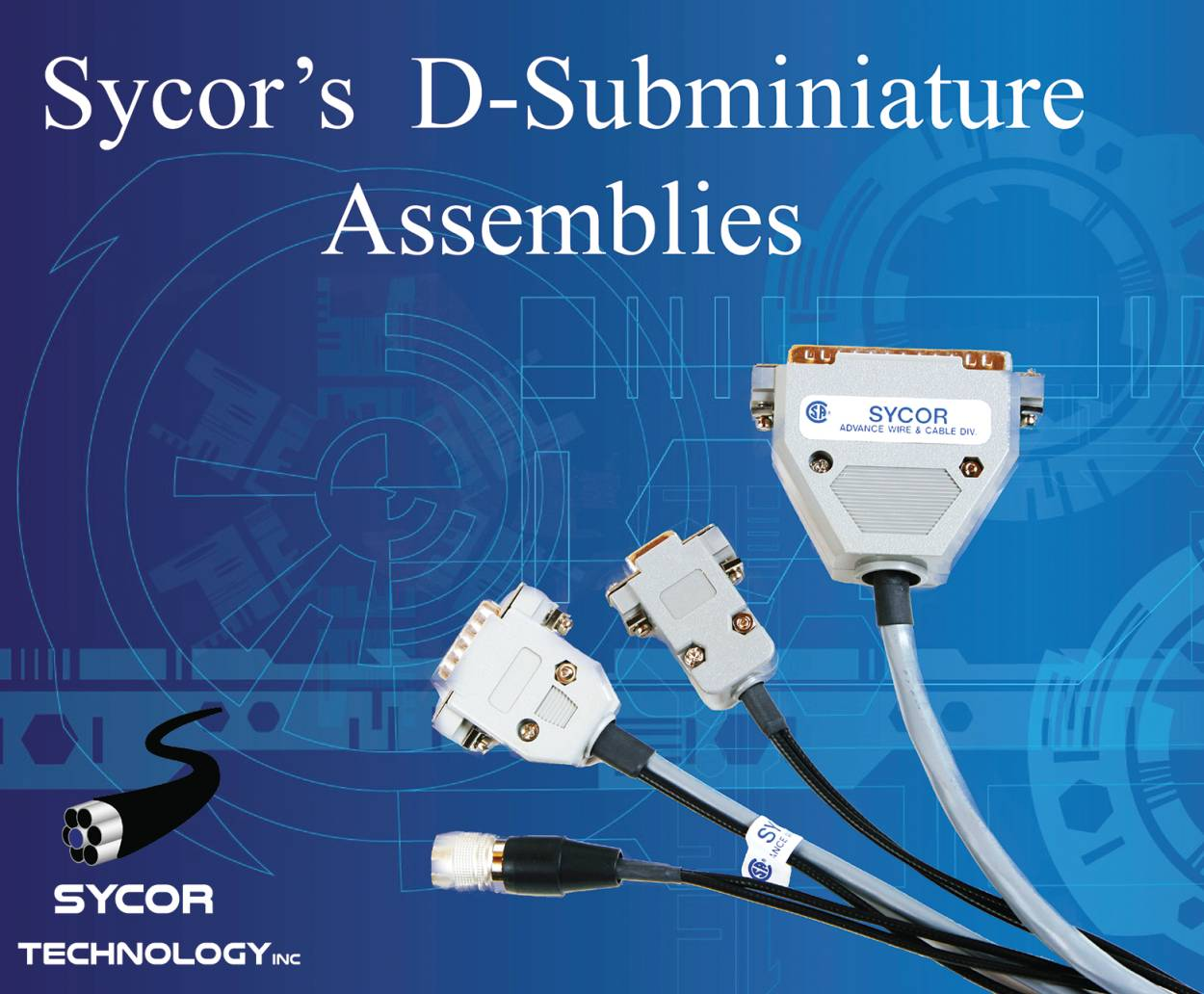 D-Sub Cable Assembly / Wire Harness