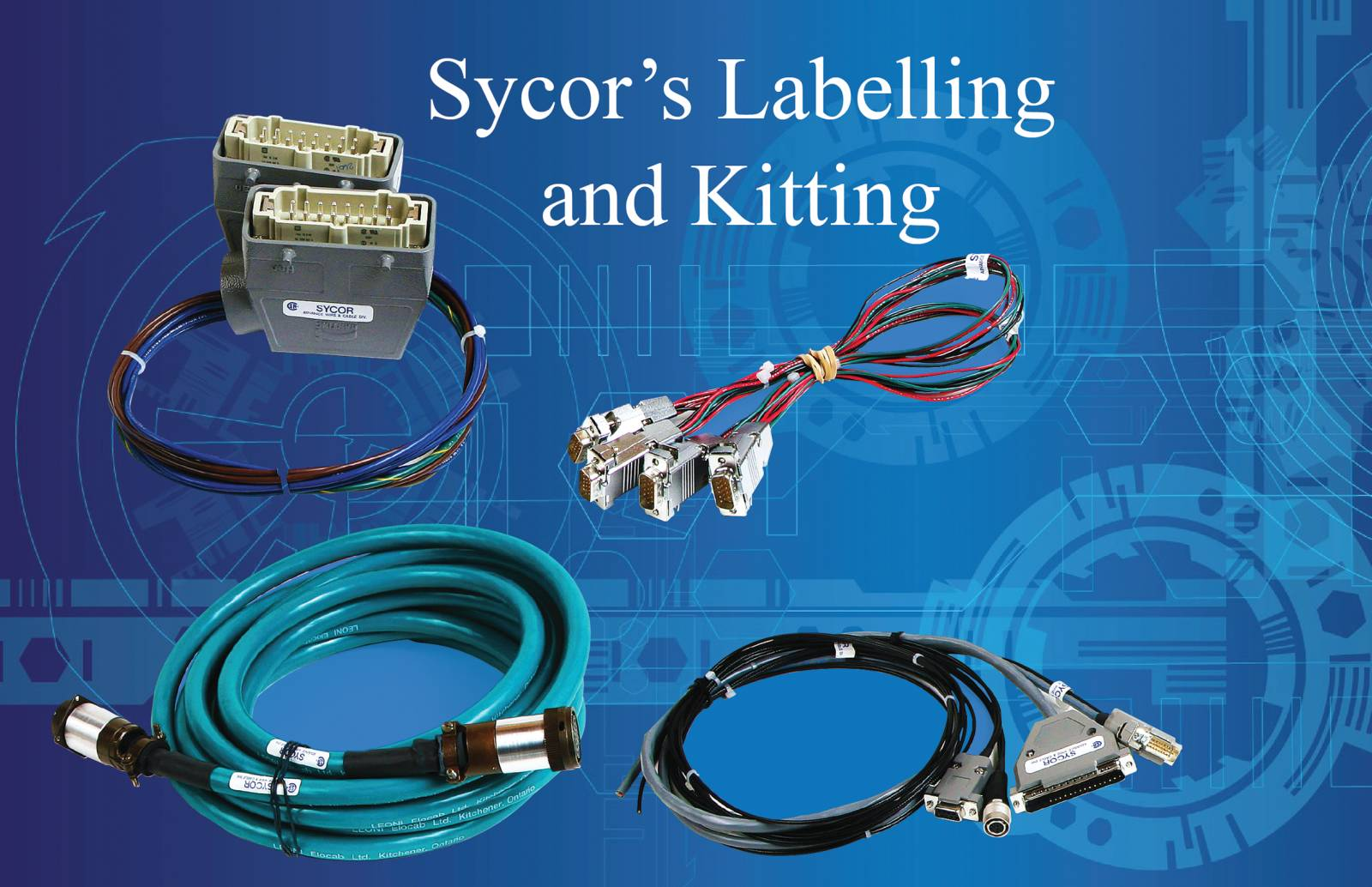 Labeling and Kitting cable Assembly / Wire Harness