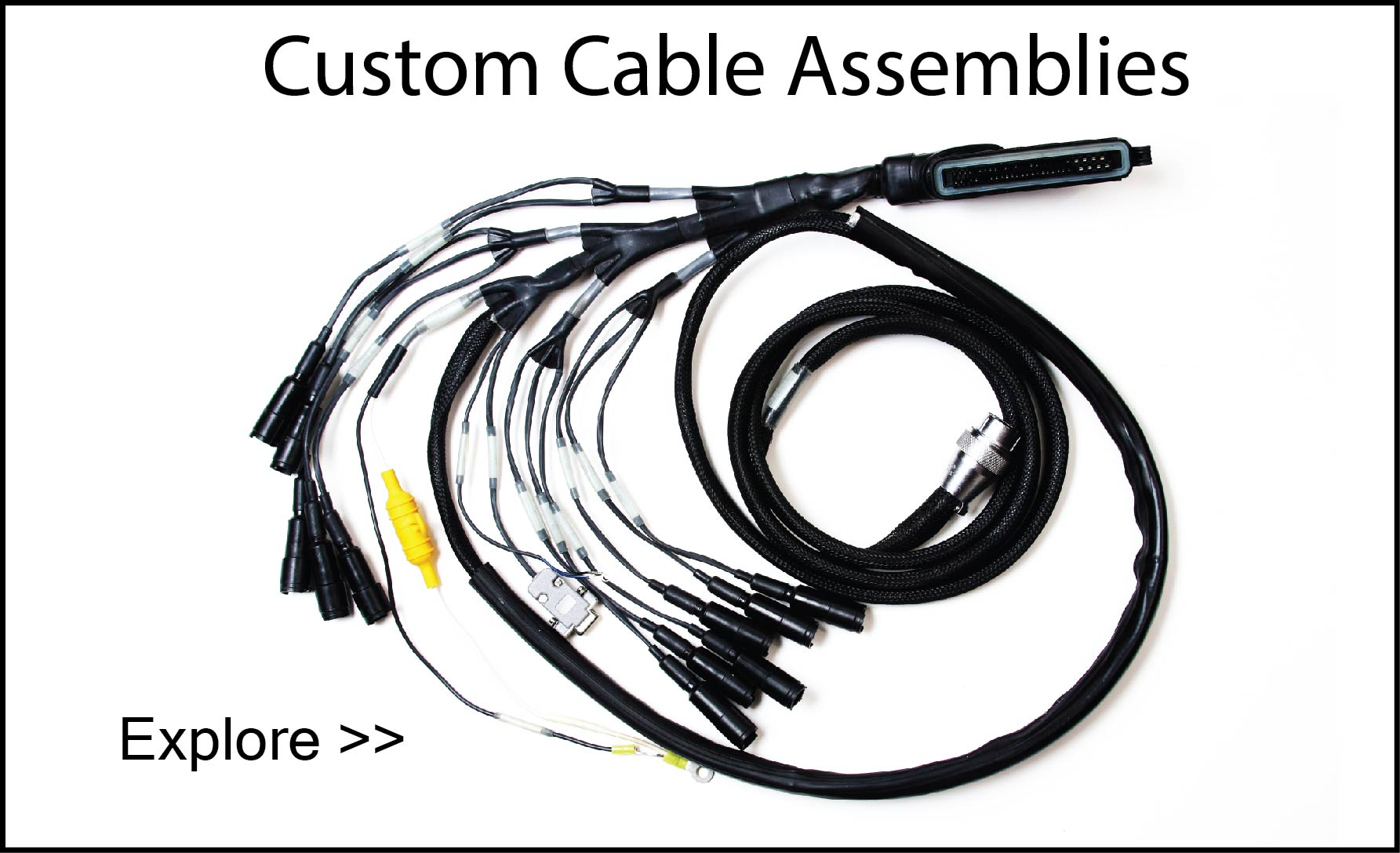 wire harnessing and cable assemblies