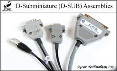 D-Sub Cable Assemblies